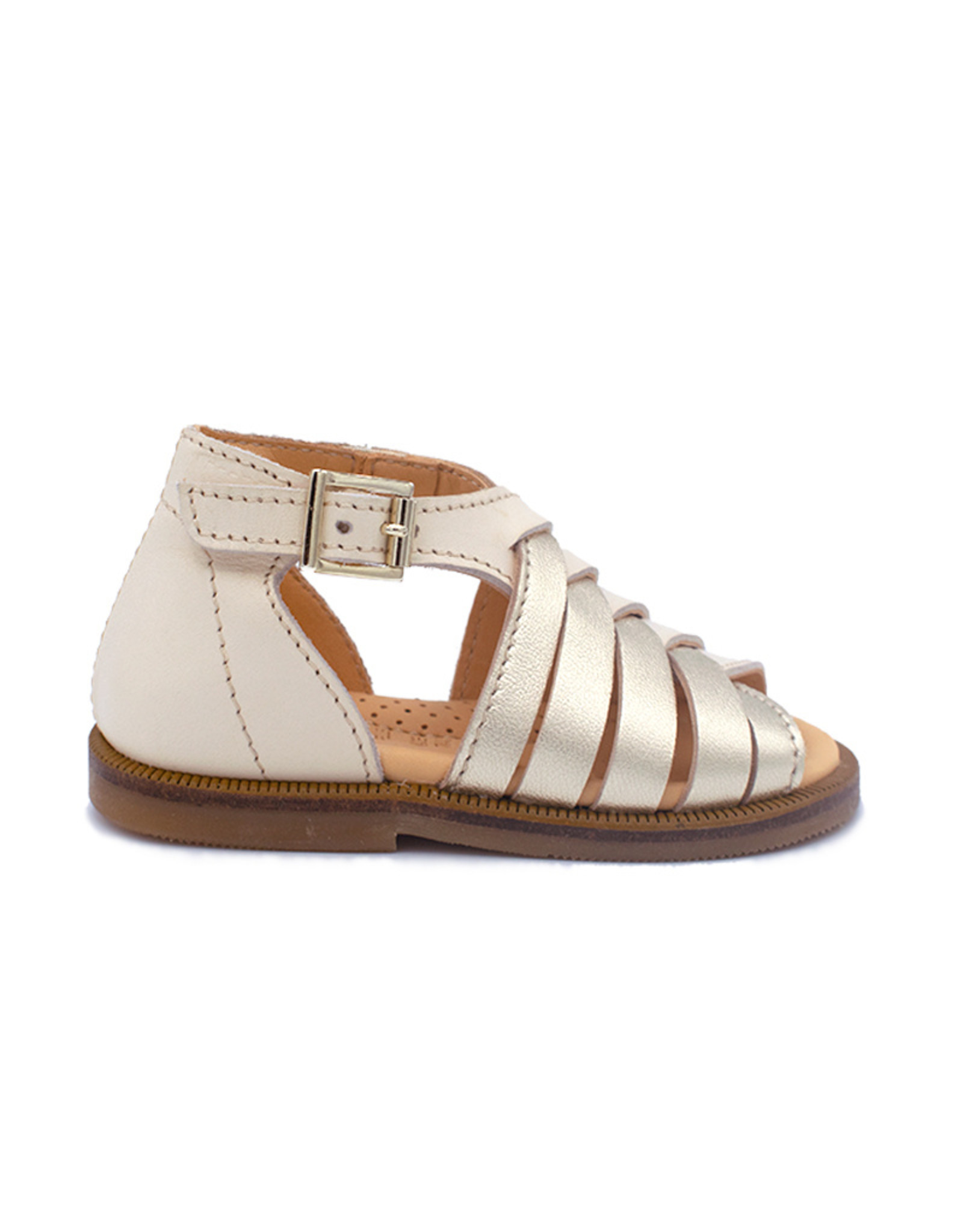 OCRA OCRA sandaal zliver wit