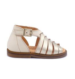 OCRA OCRA sandaal zilver wit