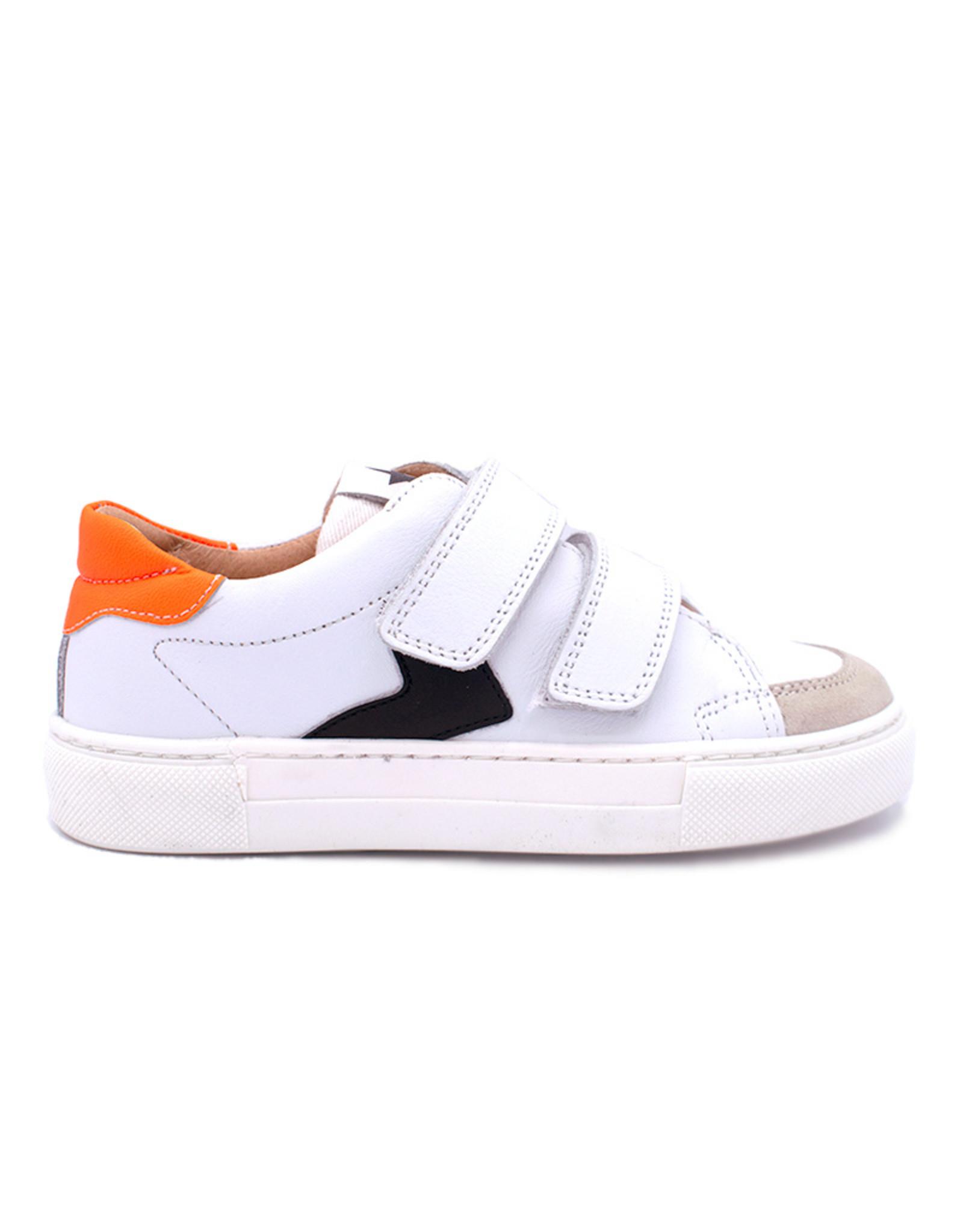 BISGAARD BISGAARD sneaker wit oranje