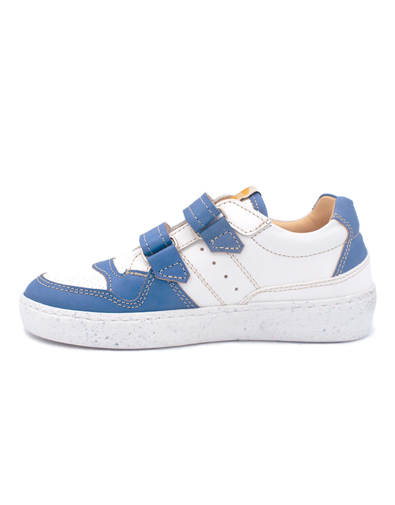 OCRA OCRA sneaker blauw wit velcro