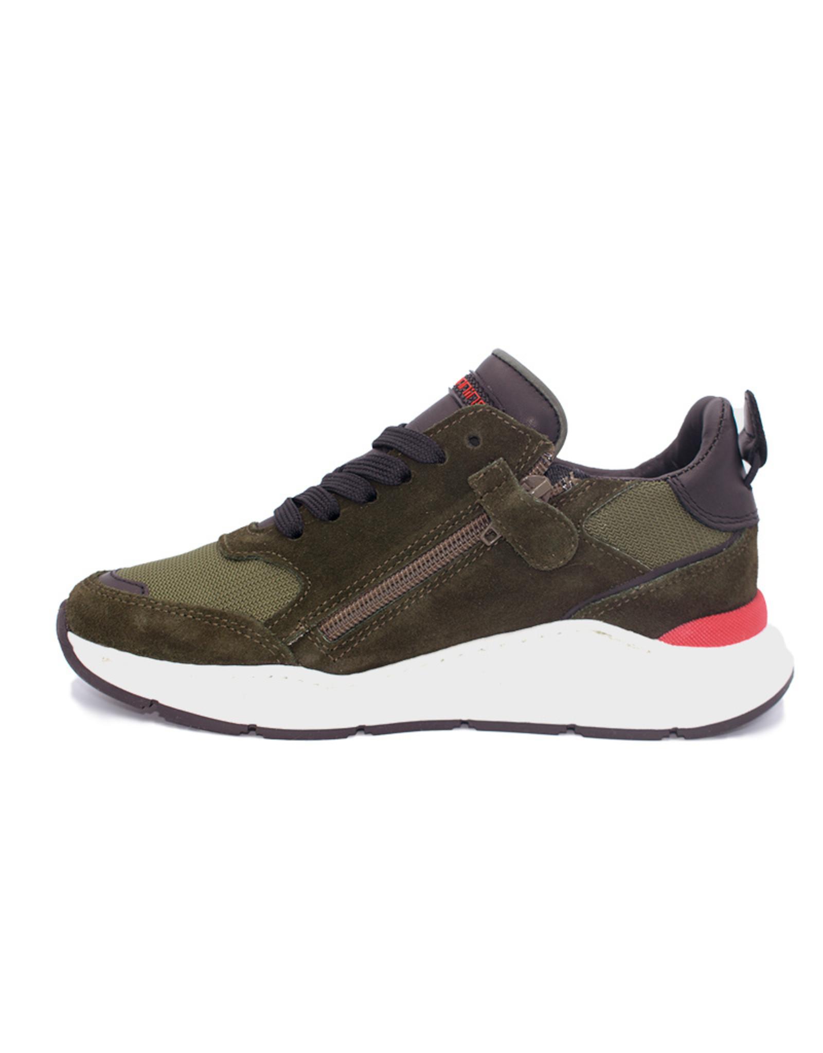 HIP HIP sneaker runner groen fluo