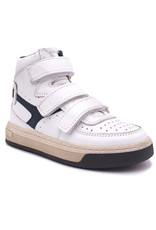 HIP HIP hoge sneaker wit blauw velcro