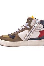OCRA OCRA hoge sneaker miltary