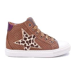 LEPI LEPI sneaker ster luipaard