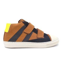 RONDINELLA RONDINELLA sneaker cognac geel fluo