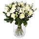 Nabestaanden boeket witte bloemen