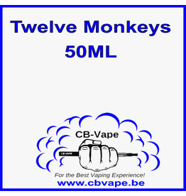 Twelve Monkeys Liquid 50ML