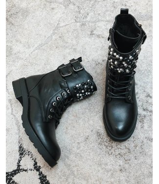 PEARLY BIKERBOOTS