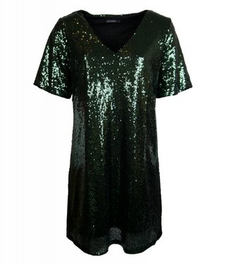 SEQUINS ALL OVER DRESS