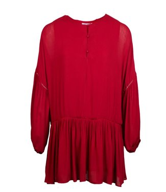 FLAIRY DRESS - RED