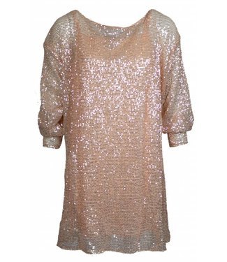 SEQUIN OVERDOSE - ROSE GOLD