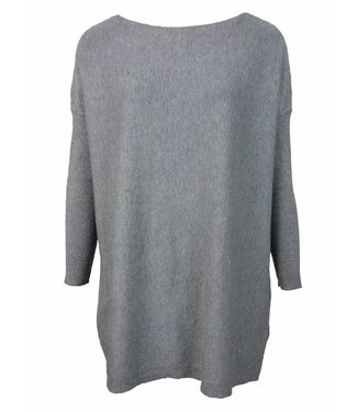 BASIC SWEATERDRESS - GREY