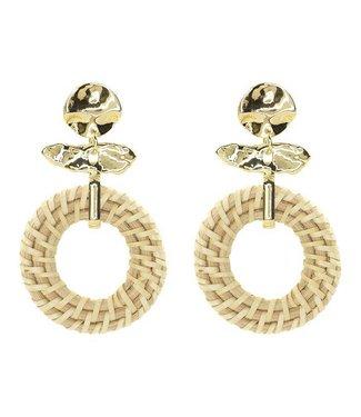 BAMBOO EARRINGS - GOLD