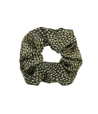 SCRUNCHIE - BLACK&GOLD