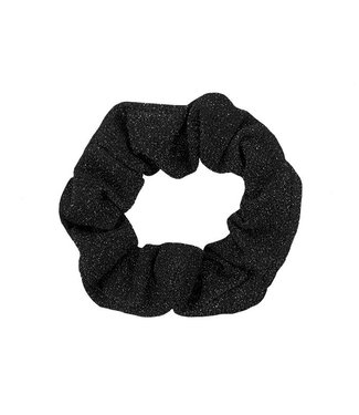SPARKLY SCRUNCHIE - BLACK