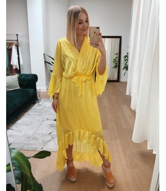 ROMANCE DRESS - YELLOW
