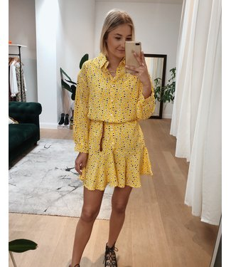 FLAIR DRESS - YELLOW