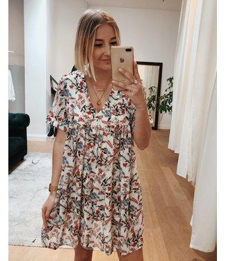 WHITE FLOWER PLAYSUIT / DRESS