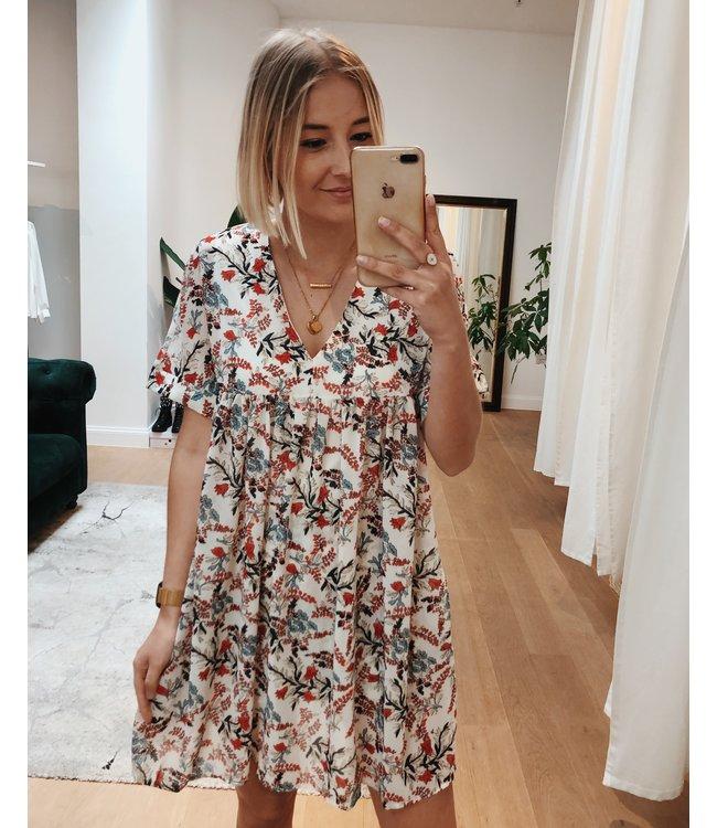 save off huge sale promo code WHITE FLOWER PLAYSUIT / DRESS