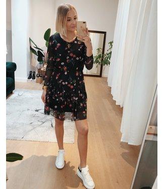 MESH FLOWER DRESS