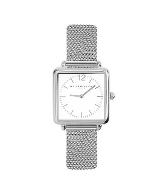 SQUARE WATCH - SILVER