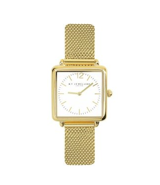 SQUARE WATCH - GOLD
