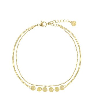 SIX COINS ANKLET