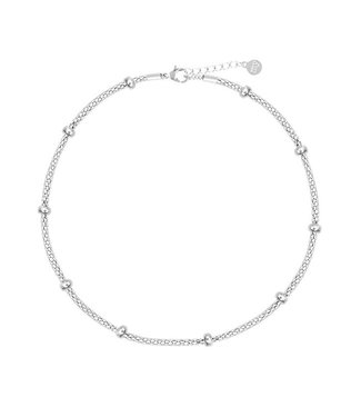 CHUNKY ANKLET - SILVER