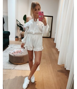 KILKY CUTEST PLAYSUIT - WHITE