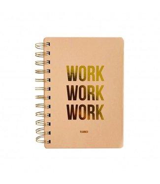 WORK WORK WORK MINI PLANNER