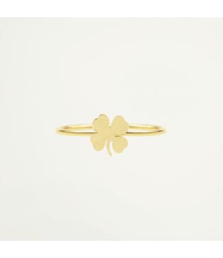RING CLOVER ONE SIZE - GOLD