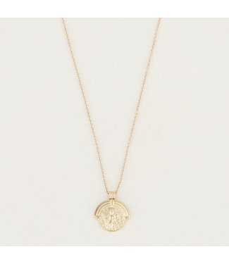 CLASSIC COIN NECKLACE - GOLD