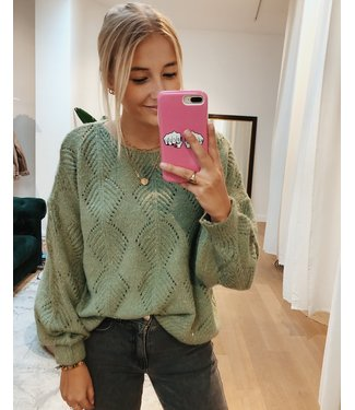 PERFECT SPARKLE KNIT - GREEN