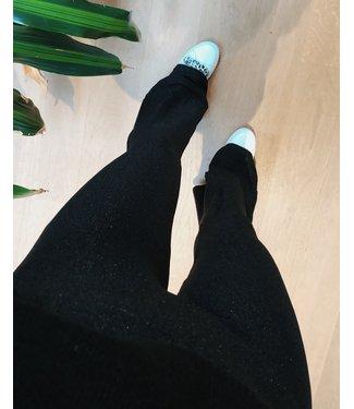 FLARE SPARKLE LEGGING - BLACK