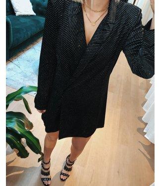 SPARKLY BLAZER DRESS