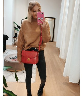 CROSSBODY POCHETTE - RED