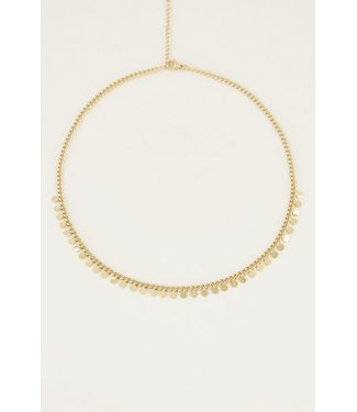 FULL COIN NECKLACE - GOLD