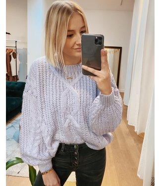 CABLE KNIT - LILA