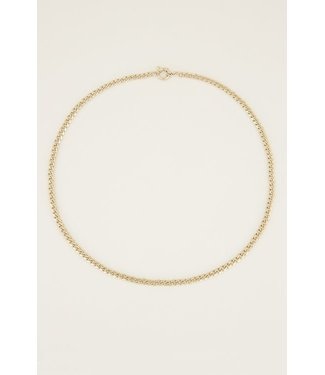 LONG CHAIN NECKLACE - GOLD