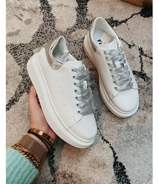 CHUNKY INSPIRED SNEAKERS - SILVER