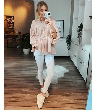 SUMMER READY BLOUSE - PINK