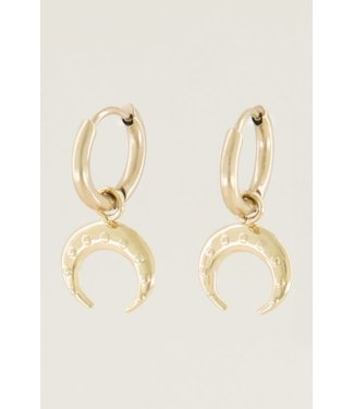 EARRINGS BUFFALO - GOLD