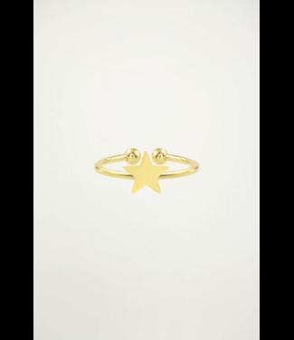 TINY STAR RING - GOLD