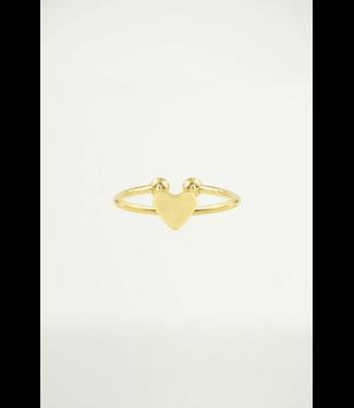 TINY HEART RING - GOLD