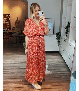 RED MAXI SUMMER DRESS