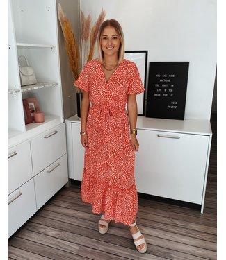 MYLA MAXI DRESS - RED
