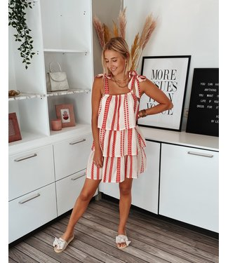 MYKONOS DRESS - RED