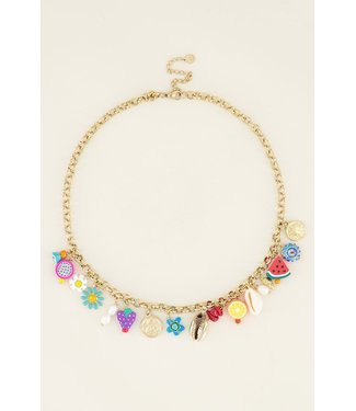 PRETTY CHARMING NECKLACE