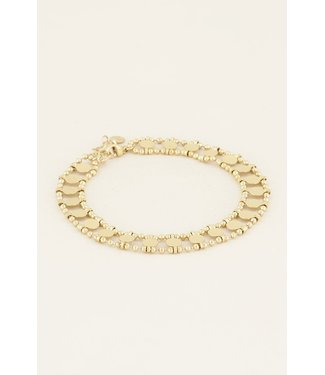 DOUBLE COIN ANKLET - GOLD