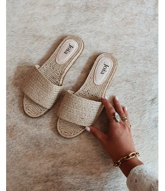 IBIZA SLIPPER - BEIGE